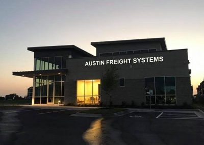 Austin Freight New Construction Project